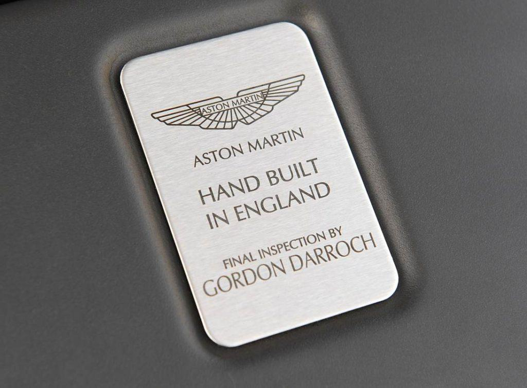 Are Aston Martins hand made?