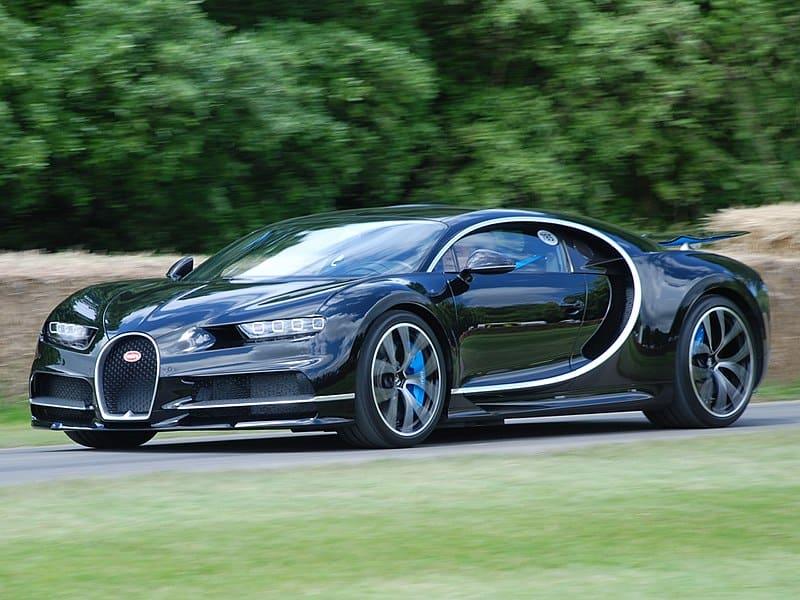 Is the Bugatti Chiron road legal?