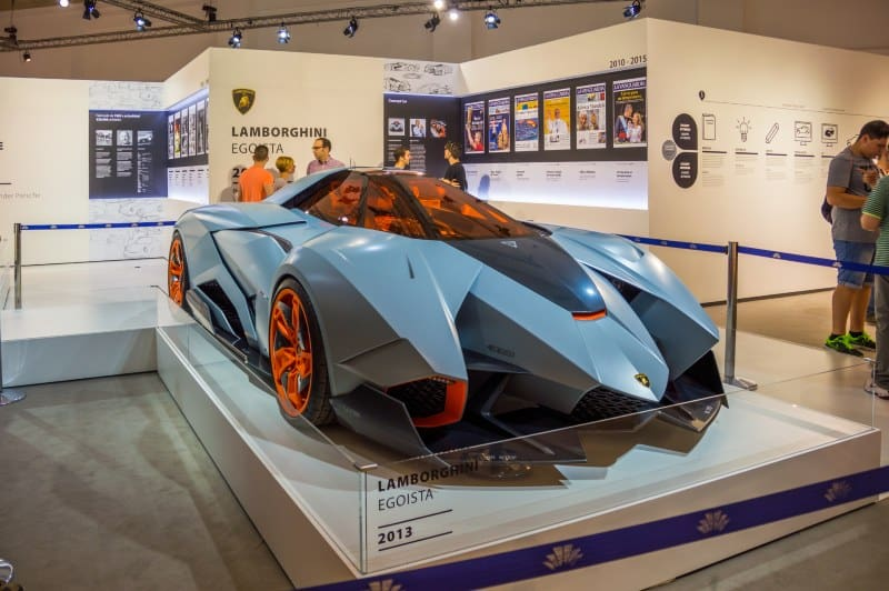 does the lamborghini egoista exist