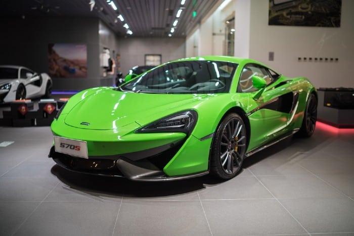 McLaren 570s specs