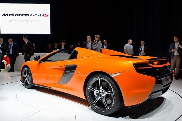 McLaren 650s Specs