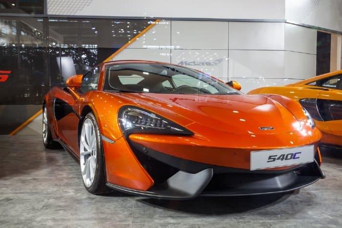 McLaren 540C Specs