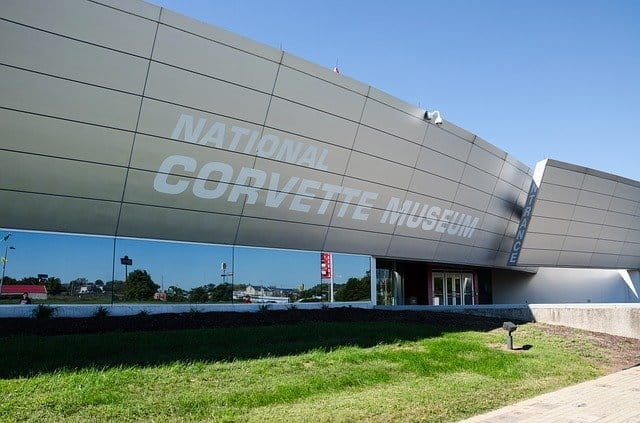 Does The Corvette Museum Have A C8?